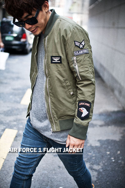 outer226. airforce 1 flight jacket [2color] [SOLD OUT]