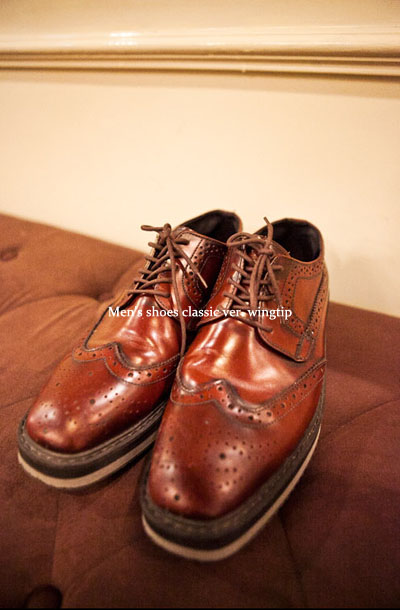 acc164. wingtip creeper -100%cow leather-