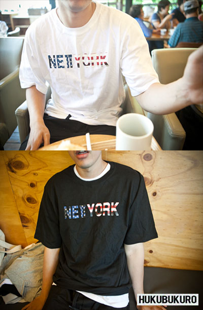 top616. newyork & paris in cafe [3color][SOLD OUT]