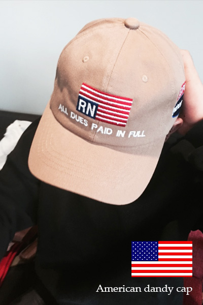 acc666. american dandy cap [4color]
