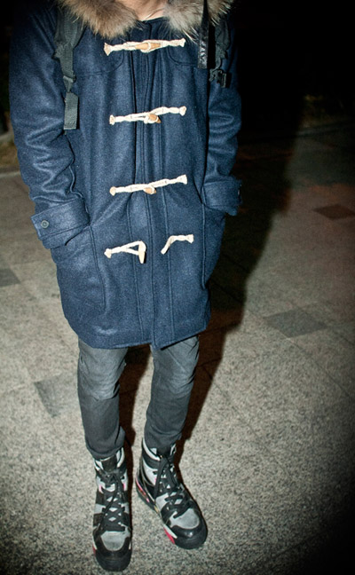 outer117. raccoon duffle coat [SOLD OUT]