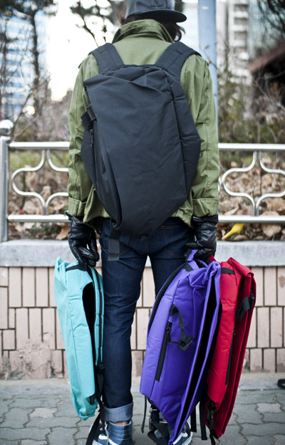 acc078. messanger backpack [4color]